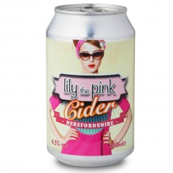 Lily the Pink 4.5% Cider 24 x 330ml cans