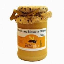 Organic Raw Hungarian Lime Blossom Honey