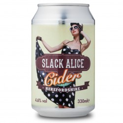 Slack Alice 4.6% Medium Cider 24 x 330ml cans