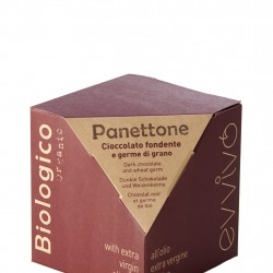 Organic Mini Panettone with Chocolate & Wheat Germ (100g)