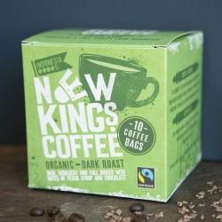 Organic Dark Roast Coffee Bags - Indonesia
