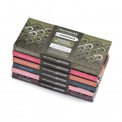 Salthouse Milk, Dark,White Chocolate Bars Mixed Pack (6 bars)