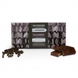 Salthouse Dark Chocolate infused with Tellicherry Peppercorns (2 x 60g)