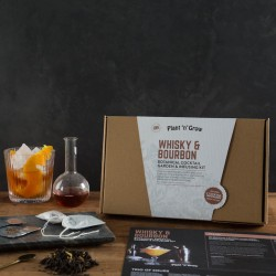 Whisky & Bourbon Botanical Cocktail Growing Kit