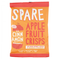 Spare Snacks Air-Dried Apple & Cinnamon Crisps