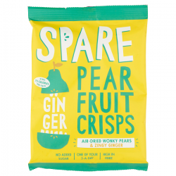 Spare Snacks Air-Dried Pear & Ginger Crisps (15 packs)