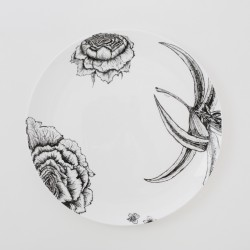 Fine Bone China Dinner Plate - Floral Decadence