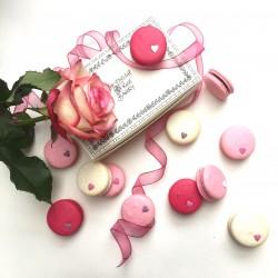 Vegan Love Hearts Macaron Selection Box of 12
