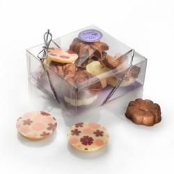 Chocolate Flowers Gift Box