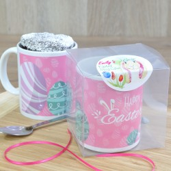 Bunny Eggs Chocolate Mug Cake Gift Set