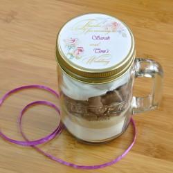 Personalised Mug Cake Wedding Favours (Vegan, Gluten-Free, Dairy-Free, Low-Sugar & Regular Options Available)
