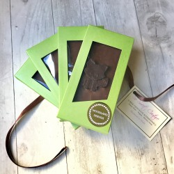 Set of 4 Dairy Free 'Woodland Friends' Chocolate Bars