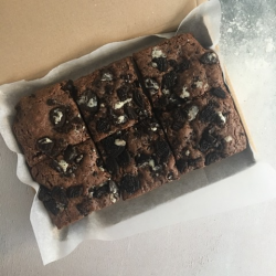 Chocolate Oreo Vegan Brownies (Box of 6)