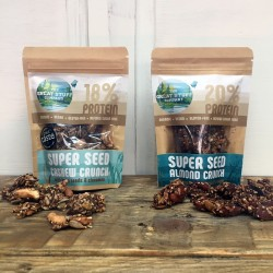 Super Seed Almond Crunch & Cashew Crunch Snack Bites (8 bags)