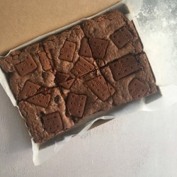 Chocolate Bourbon biscuit Vegan Brownies