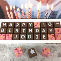 Personalised 18th Birthday Chocolate Gift