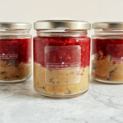Peanut Butter & Jelly Vegan Cookie Dough Jar | Pack of 2