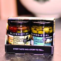 Marinated Olives Duo Set