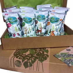 The Healthy Gift Box - Popcorn Edition (Organic, Vegan, Refined sugar free)