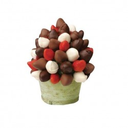 Simply For Him Chocolate Strawberry Bouquet