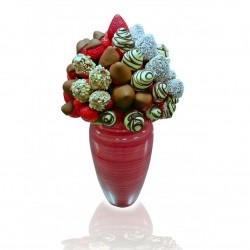 Simply Nuts Chocolate Strawberry Bouquet