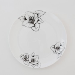 Fine Bone China Side Plate - Floral Decadence