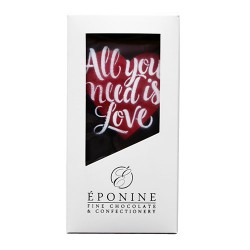 """Valentine's """"All You Need Is Love"""" Chocolate Bar"""