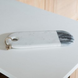 Oval Two Tone Marble Board / Platter