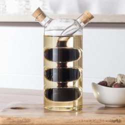 Oil and Vinegar Bottle / Cruet - Droplet Design