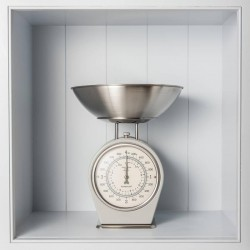 French Inspired Traditional Kitchen Scales