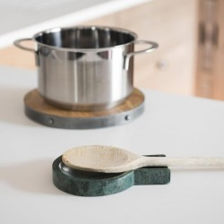 Contemporary Marble Kitchen Spoon Rest