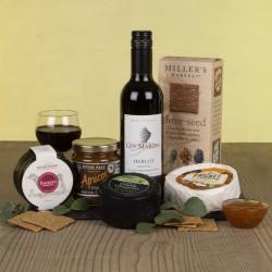 The Cheese And Wine Slate Gift Hamper