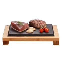 The Hot Stone Cooking Raised Steak Sharer