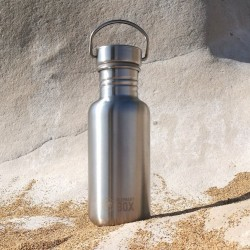 Single-Wall Stainless Steel Water Bottle (500ml or 800ml)