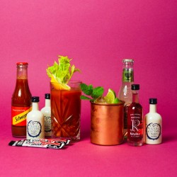 Moscow Mule And Bloody Mary Vodka Cocktail Set