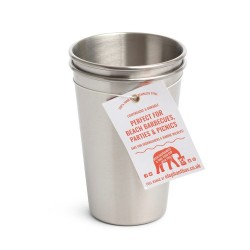 600ml Stainless Steel Cups (Multipack)
