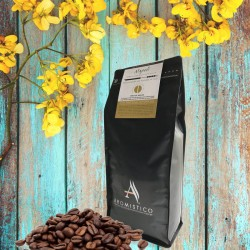 Aromistico Premium Roasted Whole Coffee Beans Napoli Blend 1Kg