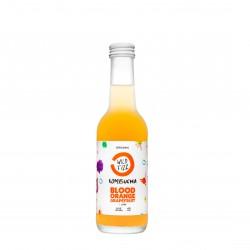 Blood orange kombucha fermented tea