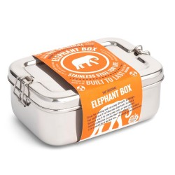 Elephant Box Steel Lunchbox