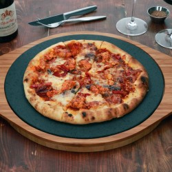 The Ultimate Pizza Stone - Make Crisp and Serve Piping Hot Pizzas Every Time
