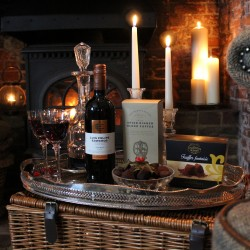 The Chelsea Gift Box - Wine, Coffee & Truffles