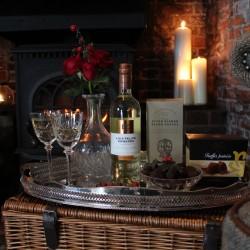 The Knightsbridge Gift Box - Wine, Coffee & Truffles