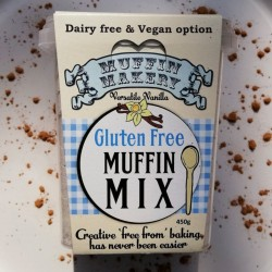 Versatile Vanilla Gluten Free and Vegan Muffin Mix