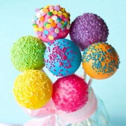 Party Cake Pops (Set of 10)