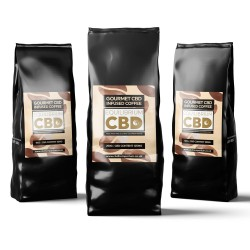 Gourmet CBD Infused Whole Bean Coffee