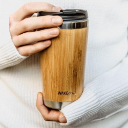 Reusable Bamboo Coffee Cup (Personalisation Available)