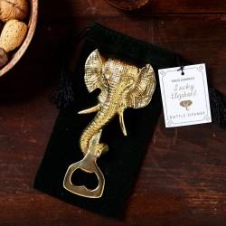 Golden Elephant Bottle Opener
