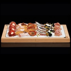 Glazed Lava Hot or Cold Serving Platter