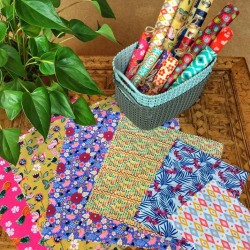 Reusable Beeswax Wraps - Choice of Sizes