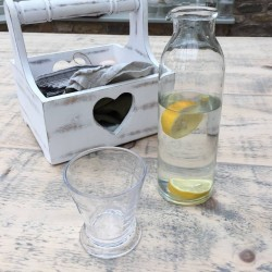 Slim Glass Table Water Jug